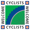 Cyclists Welcome Icon
